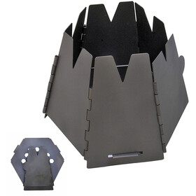 Vargo Hexagon Fornello a legna Titanium